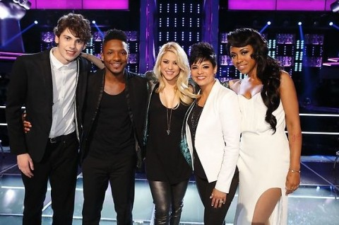 The Voice USA Season 4 - Team Shakira
