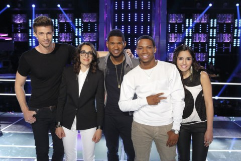 The Voice USA Season 4 - Team Usher