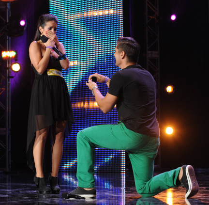 The X Factor USA 2013 Spoilers - Proposal