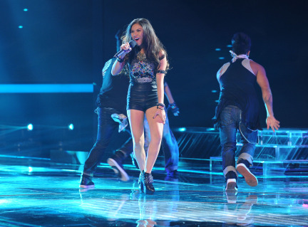 The X Factor USA 2013 Spoilers - Ellona Santiago
