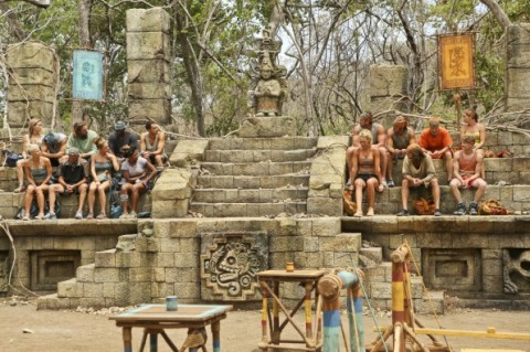 Who was voted off survivor 2014 season 29 last night week 3 reality