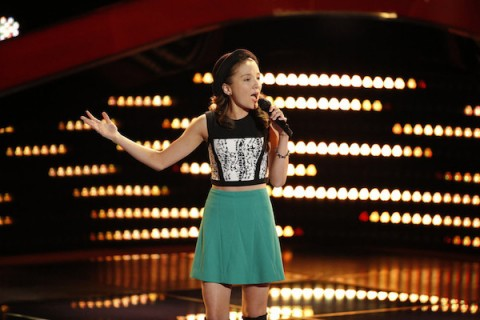 The Voice USA 2015 Spoilers - Voice Premiere - Siahna Im Blind Audition