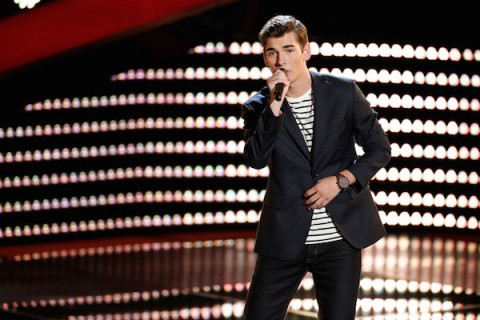The Voice USA 2015 Spoilers - Voice Premiere - Zach Seabaugh Blind Audition