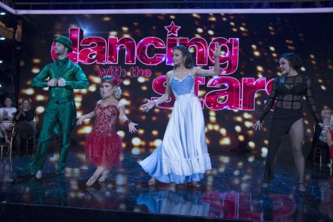 Original dancing partner returns with Hinchcliffe on 'DWTS'